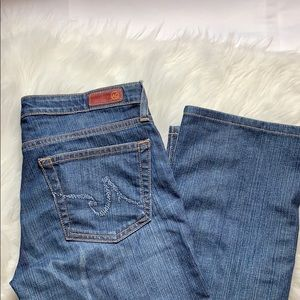Ag Adriano Goldschmied Jeans - Adriano Goldschmted blue jeans The KISS 28R